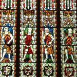 Stained windows in the Cathedral
