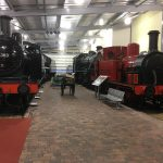 A couple of the many engines on show