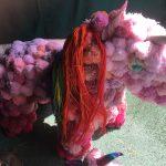 Unicorn made from Pom poms