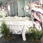 Dragon made out of china