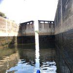 Massive locks on River Trent