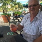 Enjoying the rum punches
