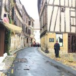 One of the tiny streets in Bergerac
