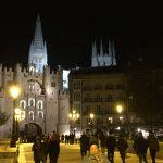 Burgos by night