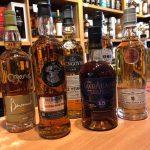 Just a few Malt whiskeys