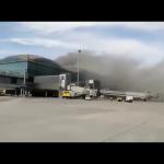 Fire at Alicante Airport