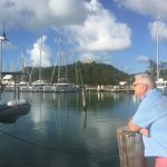 Geoff daydreaming over boats