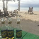 Beautiful beaches, sun and Carib what else could we wish for
