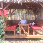Cabana's on beach