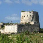 Martello tower built by British