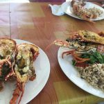 Our lobster lunch