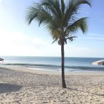 Beach to ourselves again